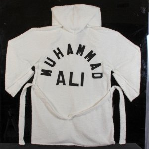 Muhammad Ali Terry Cloth Game-Worn-Used Training Everlast Robe With Signed Letter From Ali