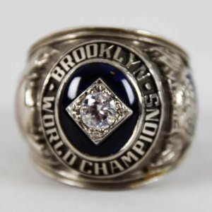 brooklyn dodgers ring