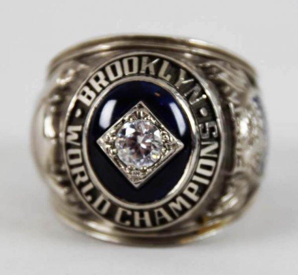 brooklyn dodgers ring