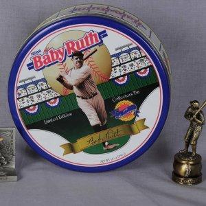 babe ruth tin