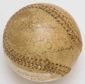 lou gehrig home run ball