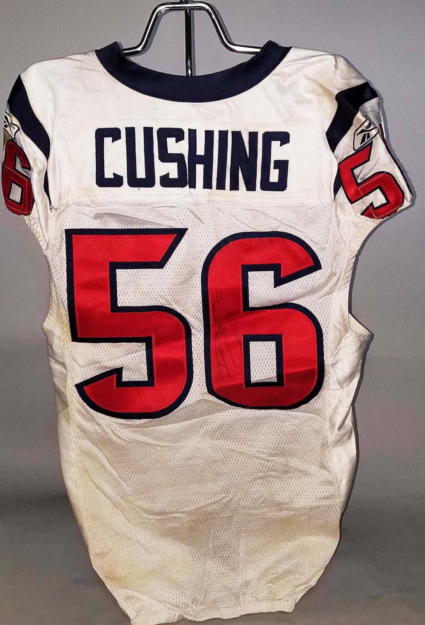 2011 Brian Cushing Game-Worn, Signed Houston Texans Jersey - COA 100% Team & PSA/DNA