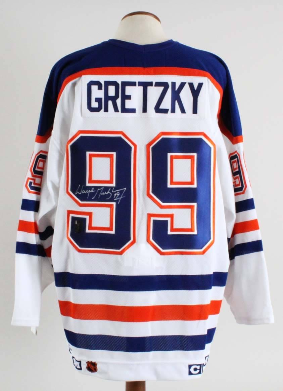 Wayne Gretzky Signed Edmonton Oilers Jersey - WG Authentic COA