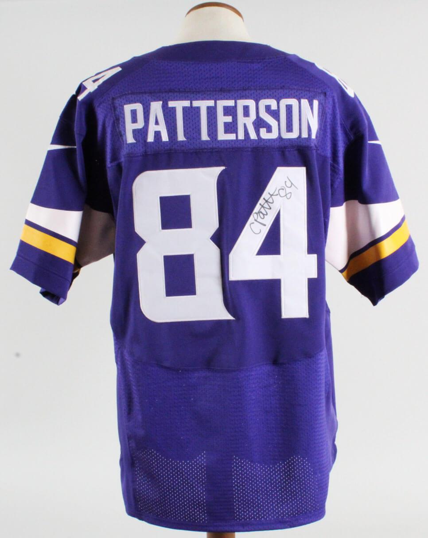 Cordarrelle Patterson Signed Jersey Vikings - COA JSA