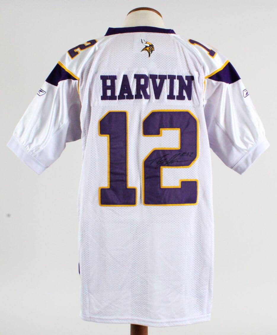Percy Harvin Signed Jersey Vikings - COA JSA