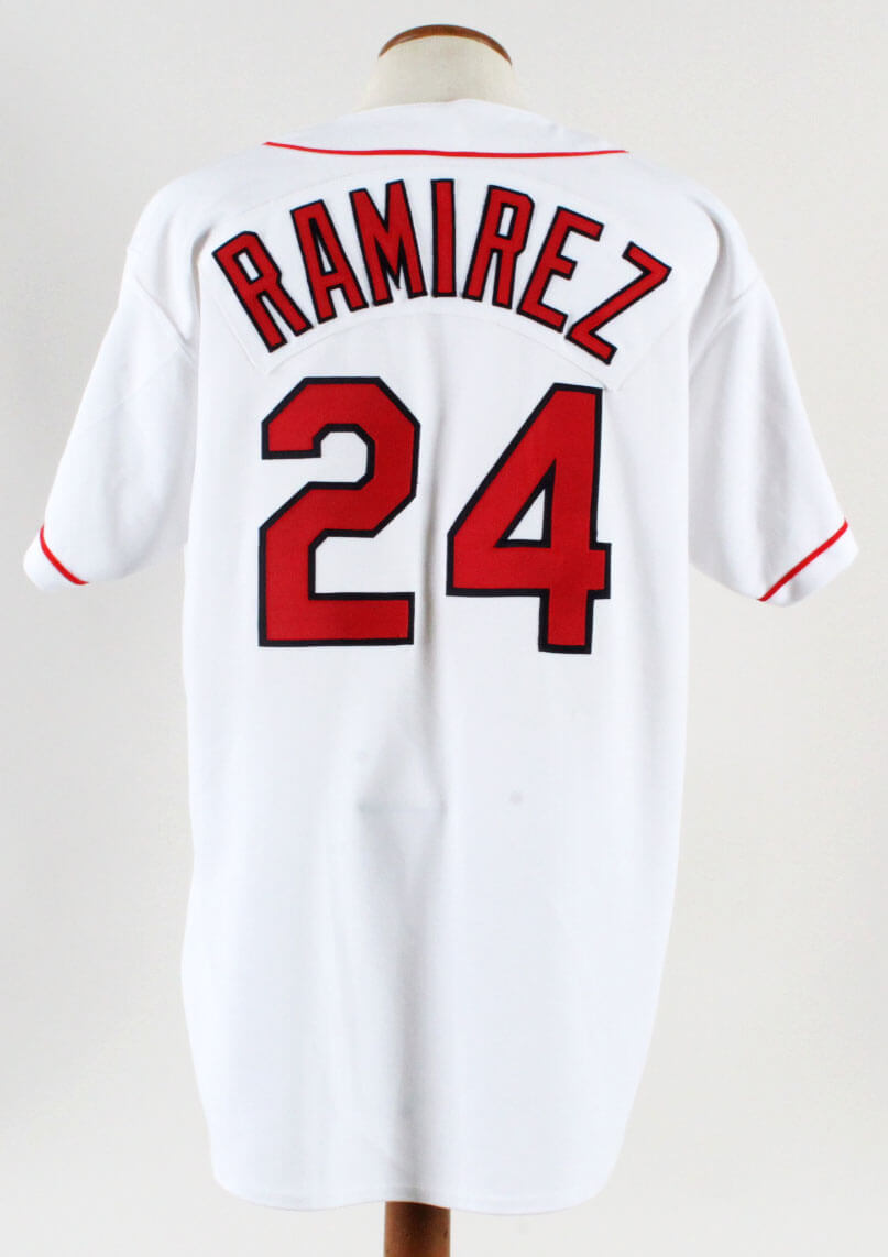 1997 Manny Ramirez Game-Worn Jersey w/ Pants Indians - COA 100% Authentic Team & Team Stamping