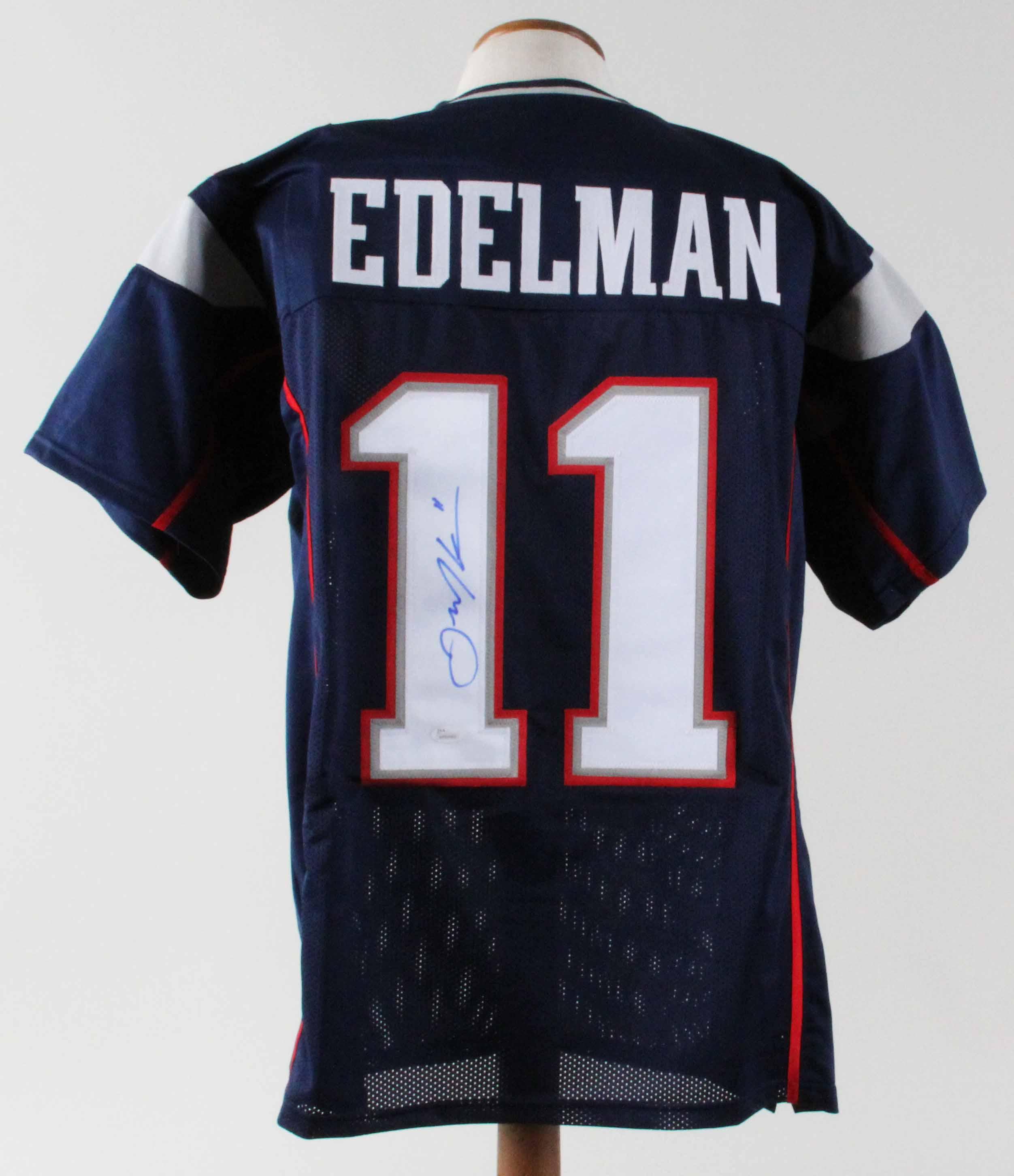 Julian Edelman Signed Jersey Patriots - COA JSA