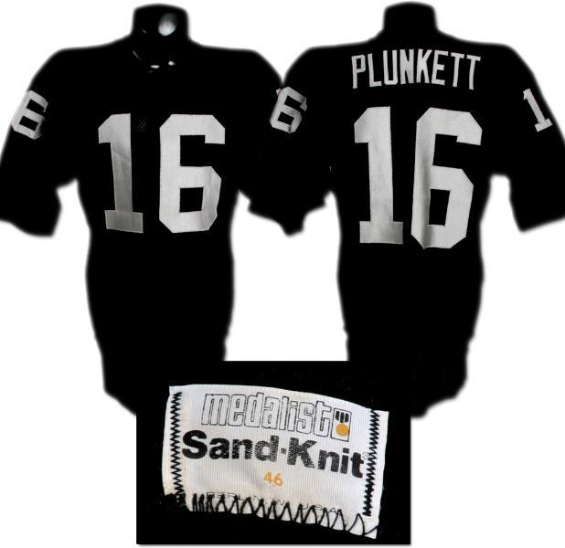 Jim Plunkett Game-Worn Jersey