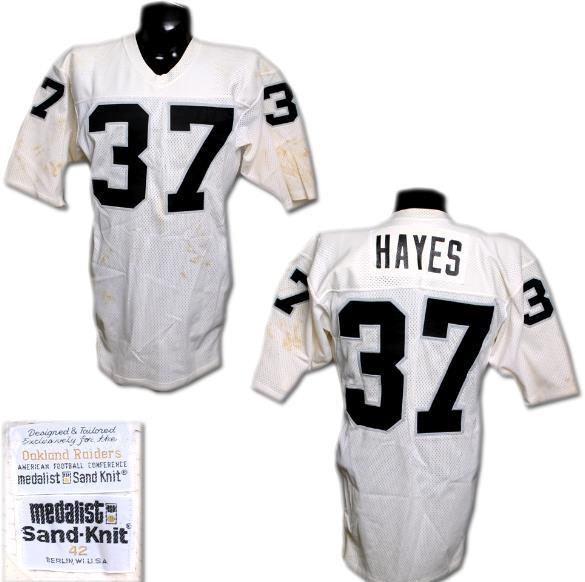 Lester Hayes Game-Worn Raiders Jersey