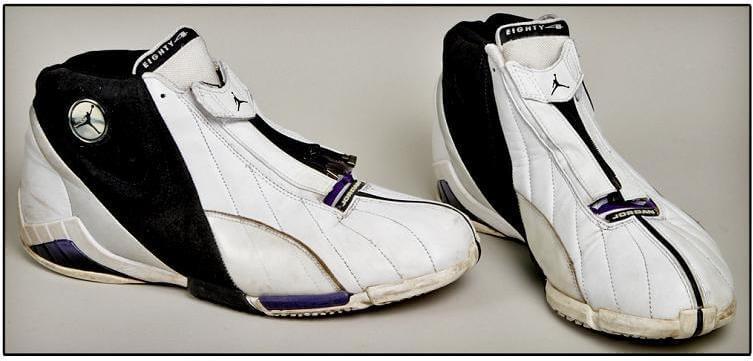 2000 Randy Moss Game-Worn Jordan Turf
