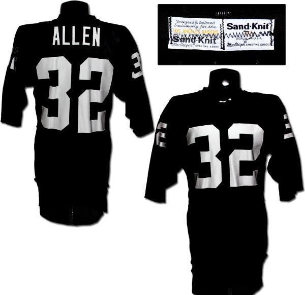 Marcus Allen Team-Issued Raiders Jersey