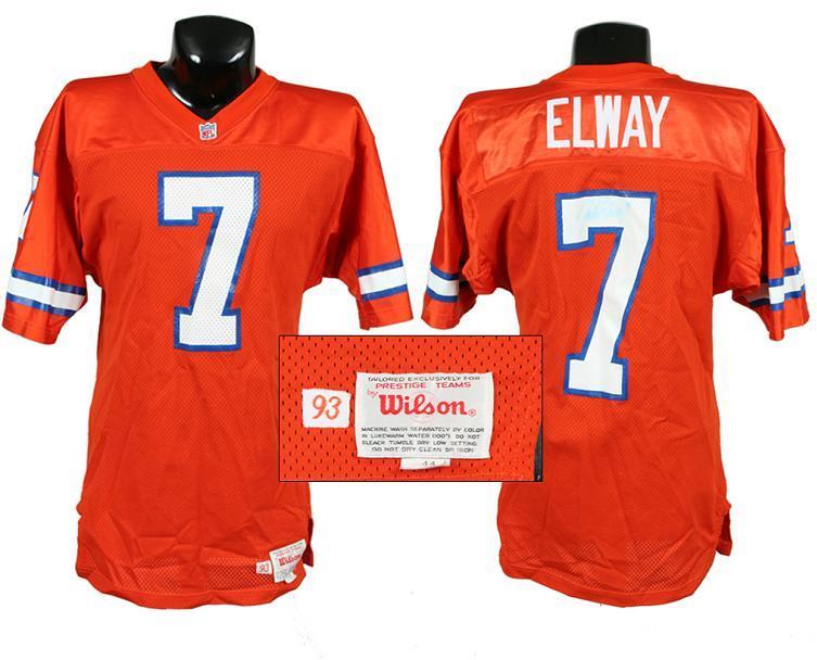 John Elway Denver Broncos Game-Worn Jersey