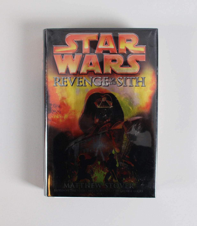Matthew Stover Signed Book Star Wars Revenge Of The Sith Memorabilia Expert